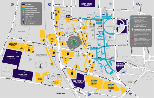 lsu video football parking changes livesouthdowns