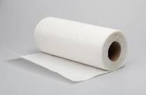paper towel laying down